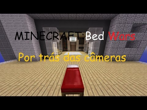 Minecraft BED WARS: POR TRÁS DAS CÂMERAS (Machinma)