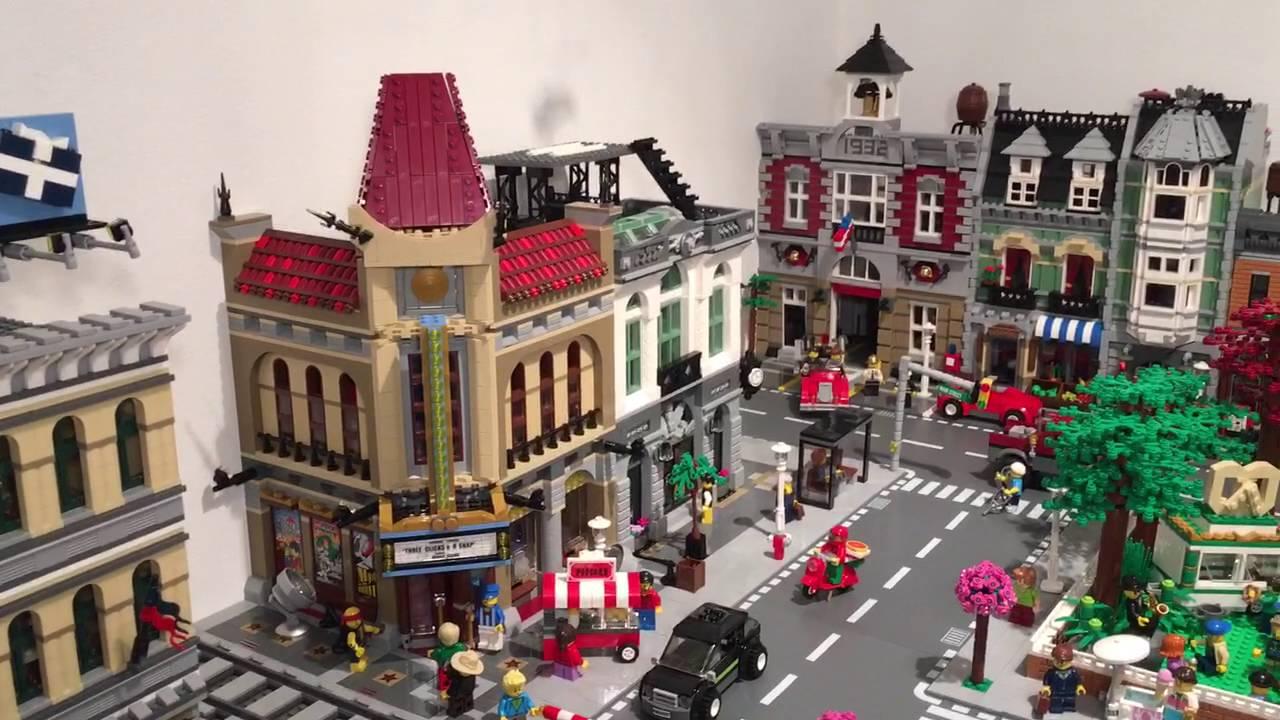 Lego City Modular Buildings
