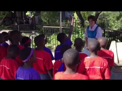 African Children's Choir at Disneyland