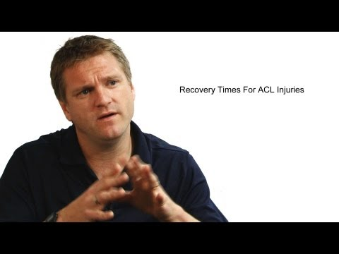 Recovery Times For ACL Injuries