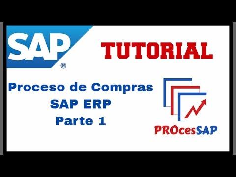 Proceso de Compras SAP ERP (Parte 1 de 2)