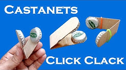 Castanets | Click Clack | How To Make Castanet With Bottle Cap | How To Make Click Clack Toy |