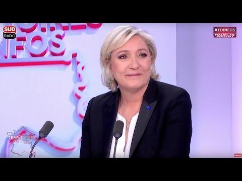 Invitée : Marine Le Pen - Territoires d'infos (04/04/2017)