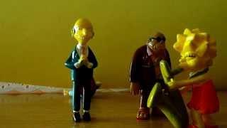 The simpson muñecos