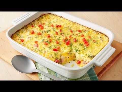 Overnight Brunch Egg Bake | Pillsbury Recipe