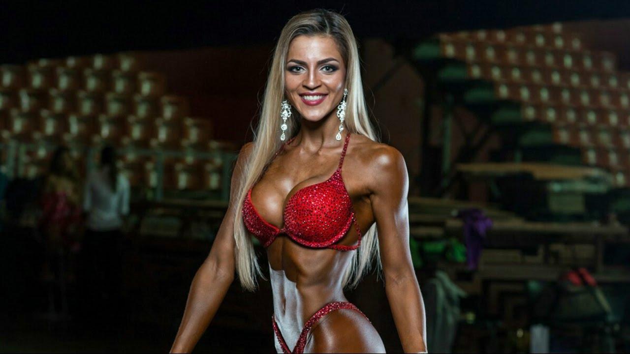 female fitness motivation workout - KSENIA ROMANOVA