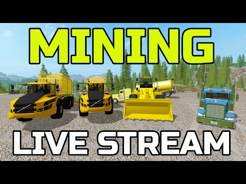 FARMING SIMULATOR 2017 | GOLD MINING | MULTIPLAYER | LIVE STREAM