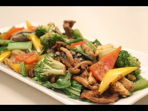 Stir Fried Vegetables | Sanjeev Kapoor Khazana