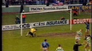 Celtic 1 - Rangers 3 - Jan 1992