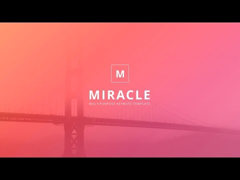 Miracle Modern Powerpoint Template Presentation