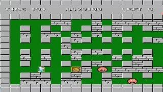 Bomberman Stage 11-15 Nintendo NES Video Game