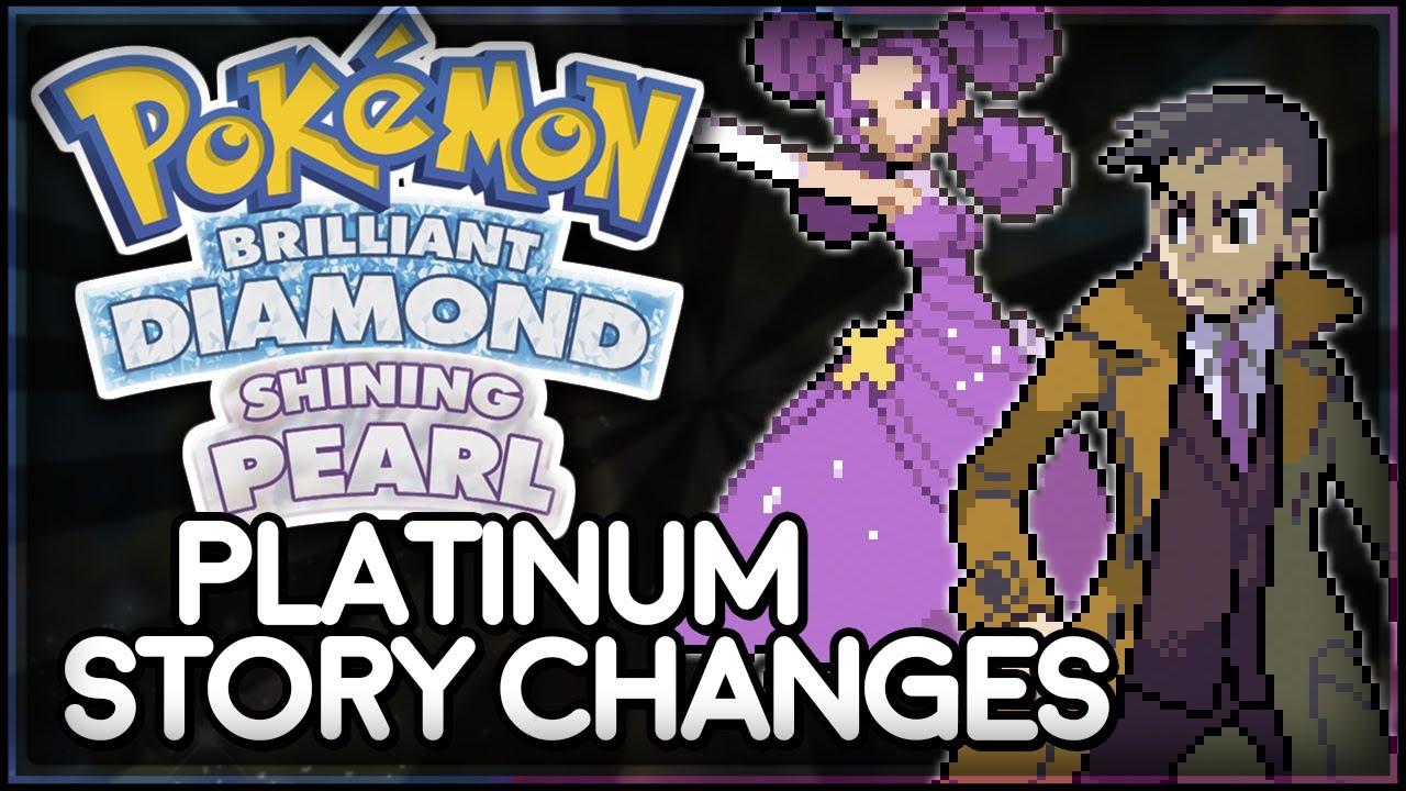 Pokémon Brilliant Diamond and Shining Pearl   Platinum Story Changes