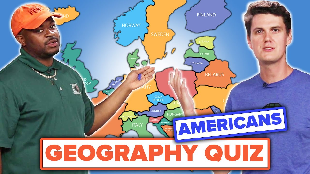Americans Try To Label A Map of Europe