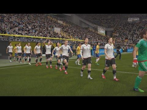 FIFA 16 Women Football Gameplay Germany vs Brazil Next-Gen Full HD Gameplay
