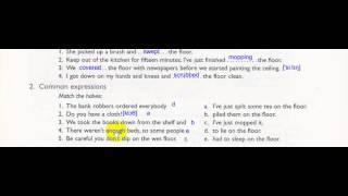 Key words for fluency 1 Урок 3. Словосочетания со словами