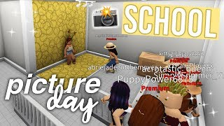 School Picture Day  Roblox Bloxburg Roleplay  Alixia