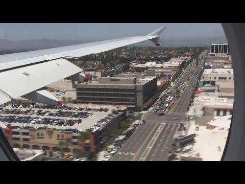 British Airways A380 Landing Los Angeles