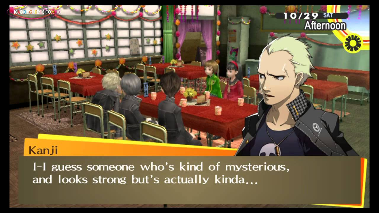 dating persona 4 golden
