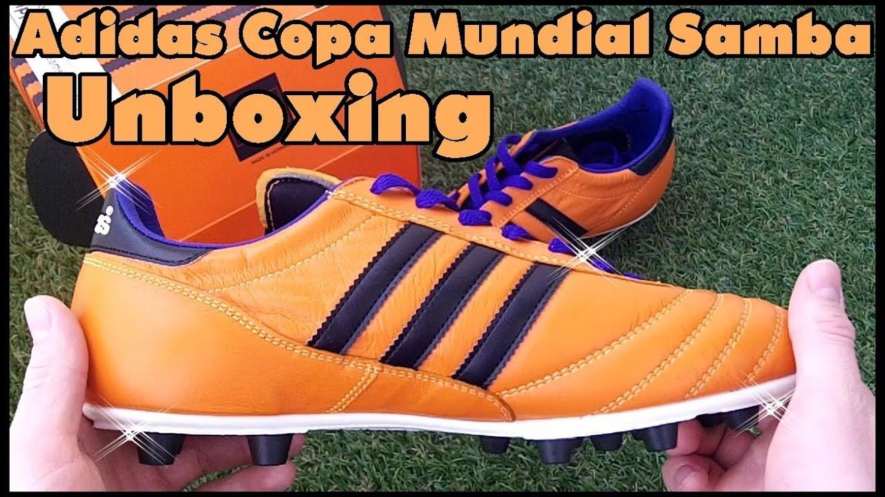 297fdaa6 Unboxing: Adidas Copa Mundial Samba - Orange - YouTube