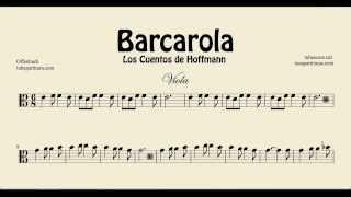 Sheet music in http://www.tocapartituras.com/2014/06/barcarola-de-offenbach-partitura-de.html http://www.tubescore.net http://www.tocapartituras.com http://w...