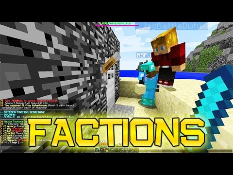 Minecraft: FACTIONS Ep. 2 - Building Our First Base!