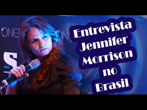 Jennifer Morrison at Brazilian Press Conference (Once Upon a Time)