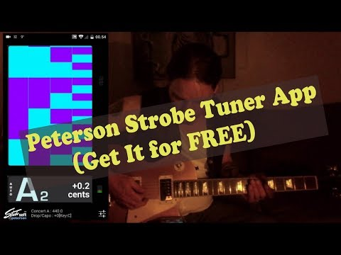 Peterson Strobe Tuner App (Get It For Free)