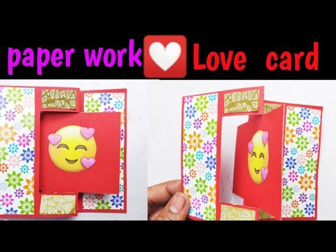 #papercraft paper pop card/love card/valentine card|Trash Changer|