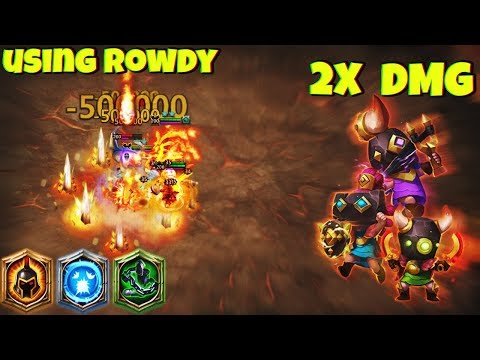 Rowdy Rascals | In ArchDemon Deflect | HIGH DPS ? | SCATTER | CASTLE CLASH