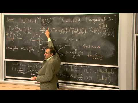 6. The Scaling Hypothesis Part 1