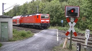 Spoorwegovergang Idstein (D) // Railroad crossing // Bahnübergang