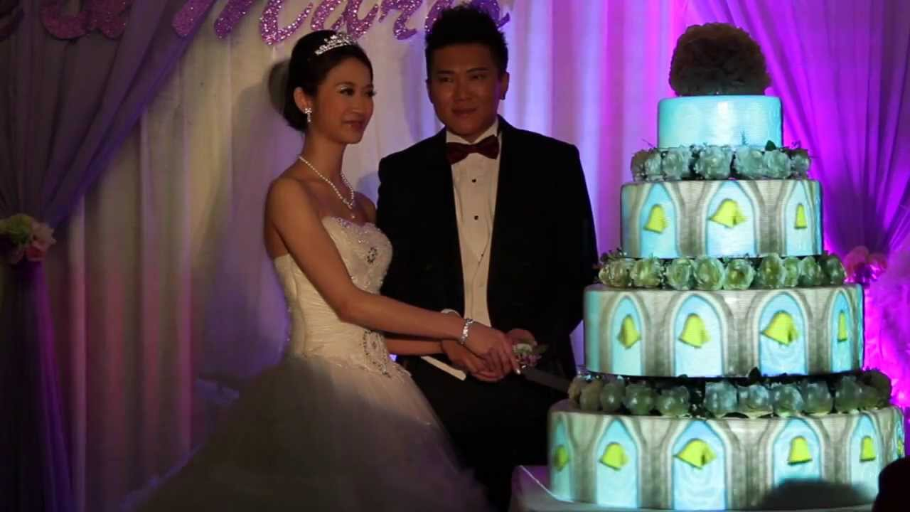 Wedding Cake 3d Mapping Youtube