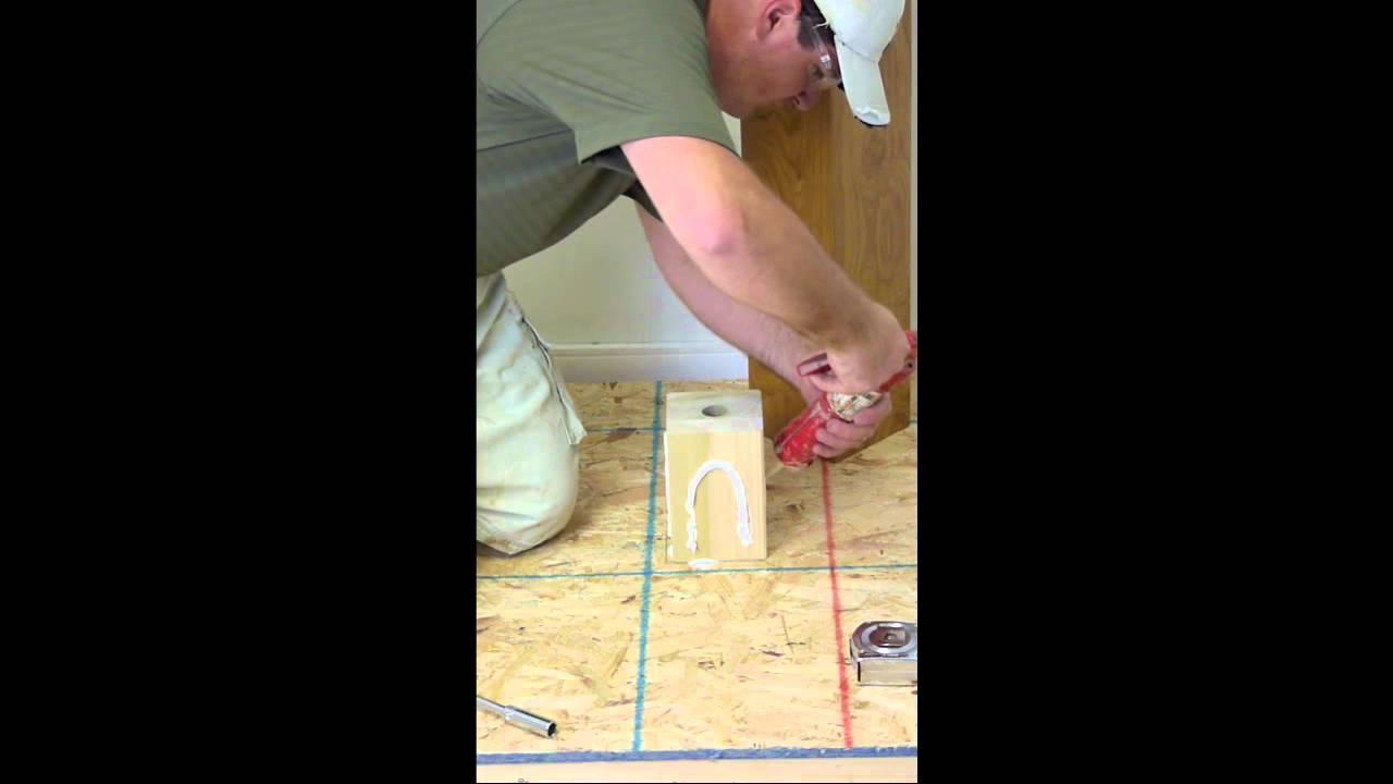 Stairsupplies Box Newel Mounting Kit Youtube