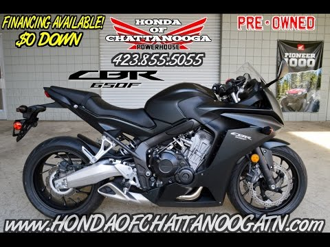 Used 2014 Honda CBR650F For Sale - CBR Sport Bike Motorcycle @ Honda of Chattanooga