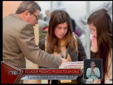 Ecuador presentó productos en Chile Espacio Food and Service 2017