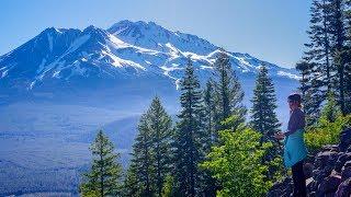 Hiking Black Butte Trail, Mt. Shasta