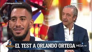 El TEST más PERSONAL a ORLANDO ORTEGA