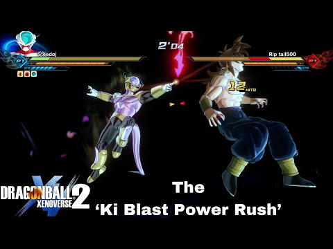 Ki Blast Power Rush! How To Make Emperor's Death Beam EVEN STRONGER! | Dragon Ball Xenoverse 2