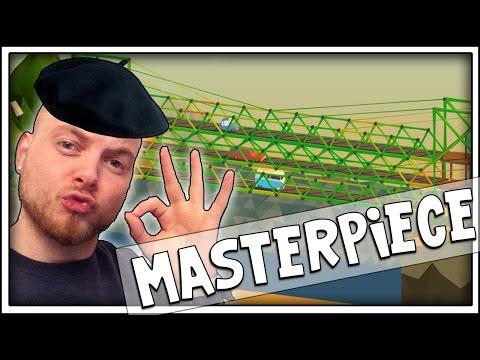 SquiddyPlays - Poly Bridge - MASTERPIECE! [6]