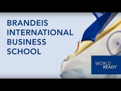 Brandeis IBS - Master of Science in Finance (MSF) Program