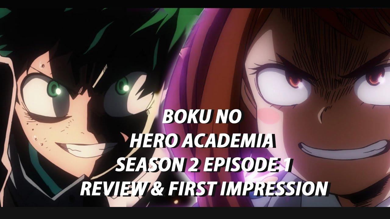 boku no hero academia season 2 episode 1