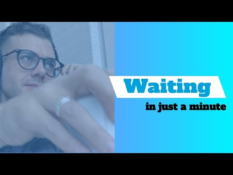 Waiting  -  Fr. Rob Galea - In Just A Minute - Episode #4