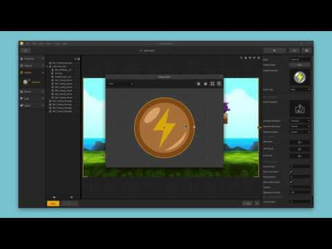 Power Up Assets - Buildbox 2 Tutorial