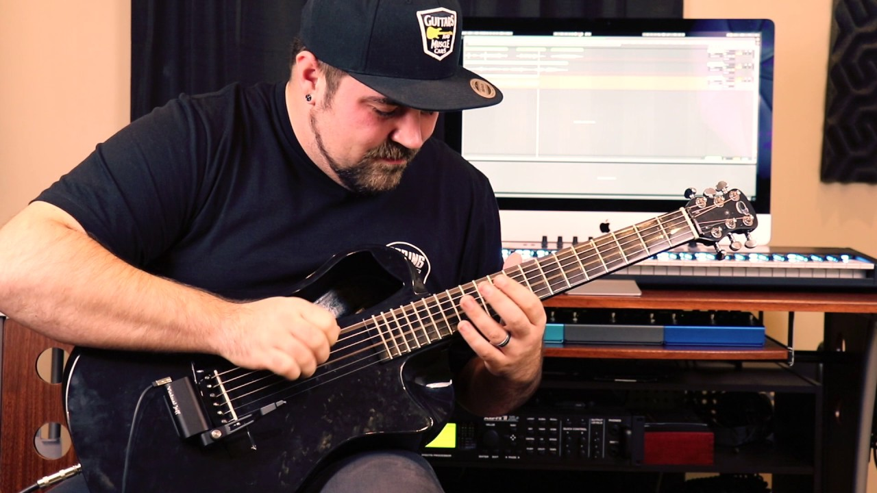Acoustic Whammy Bar And Carbon Fiber Guitar Acoustic Djent Youtube