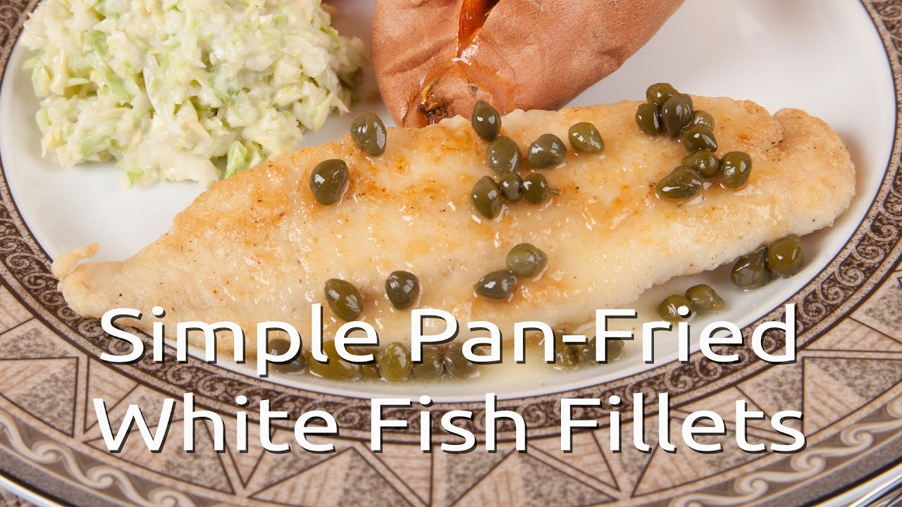 Pan fried white fish recipes the image for Pan fish recipe