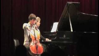 Antonio Lysy & Pascal Rogé live in NYC at Symphony Space on Sept. 2009 part 6 out of 6