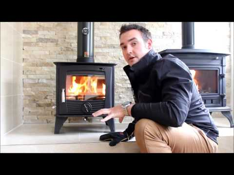 How To Use The Air Vents In Your Henley Stove Youtube