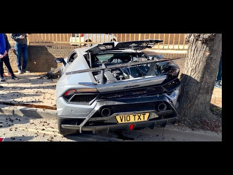 Your Morning Show - Guy crashes a Lambo