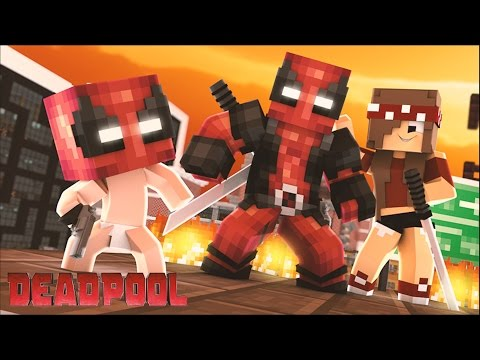 Minecraft: WHO&39;S YOUR FAMILY? - BEBÊ MALUCO DO DEADPOOL SALVOU A CIDADE Deadpool 2 No Good Deed