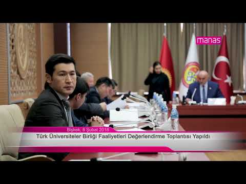 Türk Üniversiteler Birliği Faaliyetleri Değerlendirme Toplantısı Yapıldı